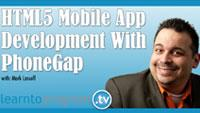 HTML5 mobile development course online